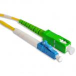 Патчкорд simplex LC/UPC-SC/APC, SM, 1м