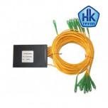 1х24, 3,0мм, Оптический планарный PLC разветвитель (сплитер)  SC/APC