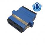Розетка (адаптер) соединительная duplex SC/UPC-SC/UPC, SM